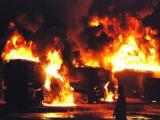 انهدام 12 تانکر سوخت ناتو در افغانستان