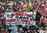 Fransa xalqının G-8 sammitinə qarşı etiraz aksiyası