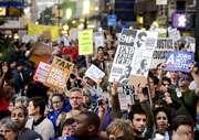 Nyu-York polisi etiraz aksiyasının 70 iştirakçısını həbs edib