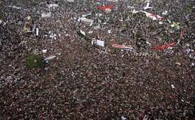 Egypt Protesters Stage Mass Anti-Military Rally