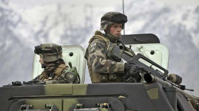 French forces in Afghanistan (file photo)
