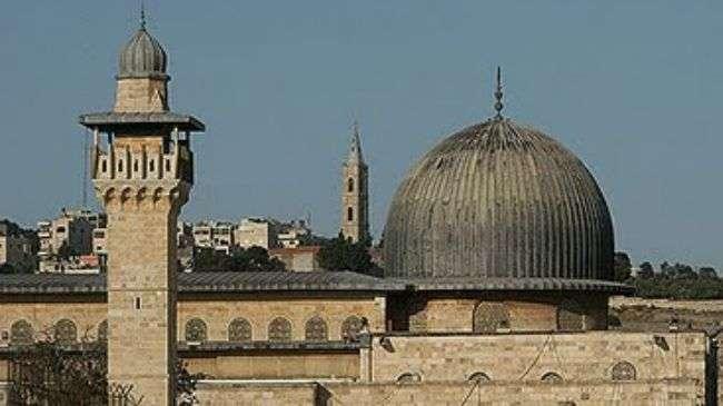 This file photo shows the Al-Aqsa Mosque in East al-Quds (Jerusalem).