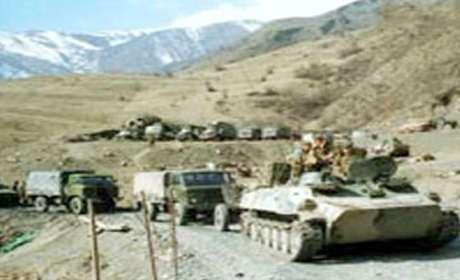 Ermənilər Ağdamda hərbi təlimlərə başladı