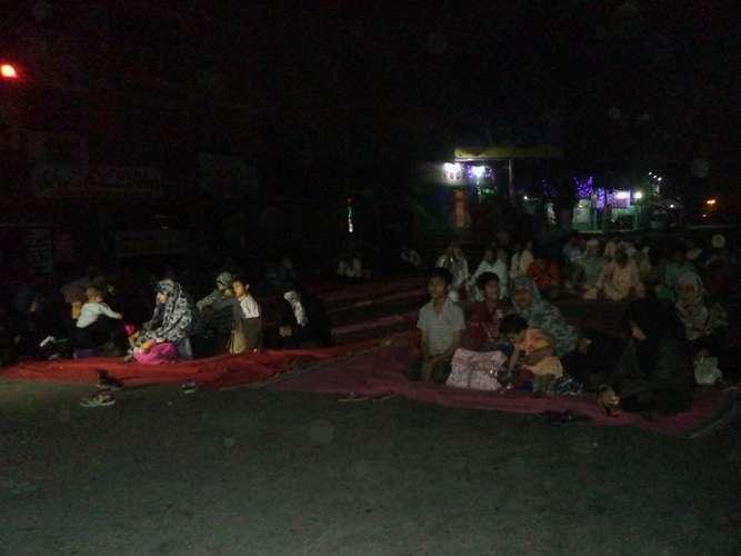 ایم ڈبلیو ایم کراچی کے زیراہتمام خیرپور میں بلاجواز گرفتاریوں کیخلاف احتجاجی دھرنا