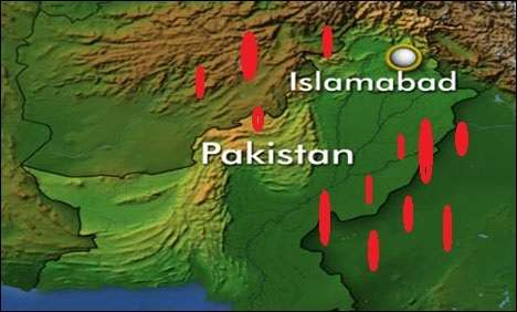 At least 23 killed, 50 injured in a powerful bomb blast in Islamabad