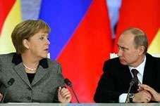 Putin, Merkel, Olland və Poroşenko Ukraynanı müzakirə ediblər