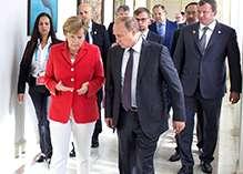 Braziliyada Putin və Merkel Ukrayna ilə bağlı razılığa gəldi