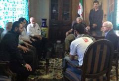 İŞİD lideri ABŞ senatoru ilə görüşüb