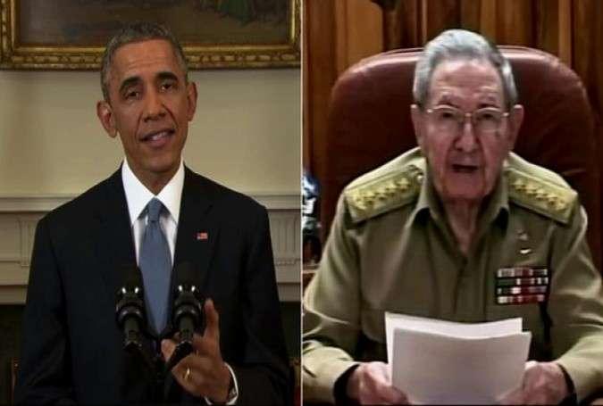 US, Cuba Re-establish Diplomatic Ties