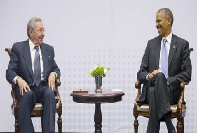 US-Cuba - Photo-Op With a Warmonger