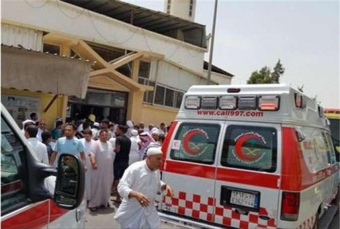حمله تروریستی به مسجد شیعیان در قطیف عربستان