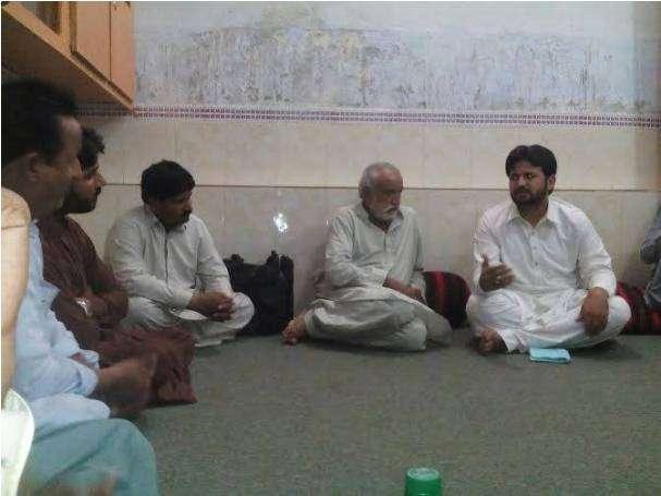 اندروںن بلوچستان، ولایت نور ہدایت کنونشن کی رابطہ مہم کے سلسلے میں مرکزی صدر کے دورہ کی تصاویر