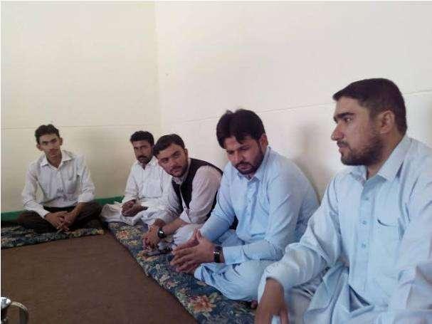 کوئٹہ، ولایت نور ہدایت کنونشن کی رابطہ مہم کے سلسلے میں مرکزی صدر کے دورہ بلوچستان کی تصاویر