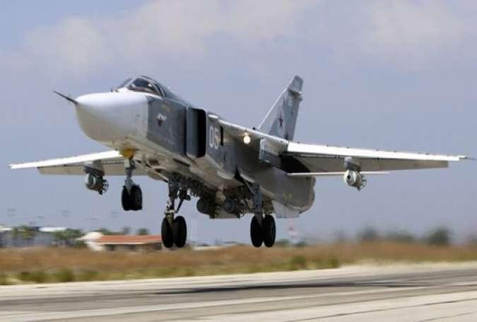 ترک فضائیہ نے شام کے علاقے میں روس کا جنگی طیارہ مار گرایا