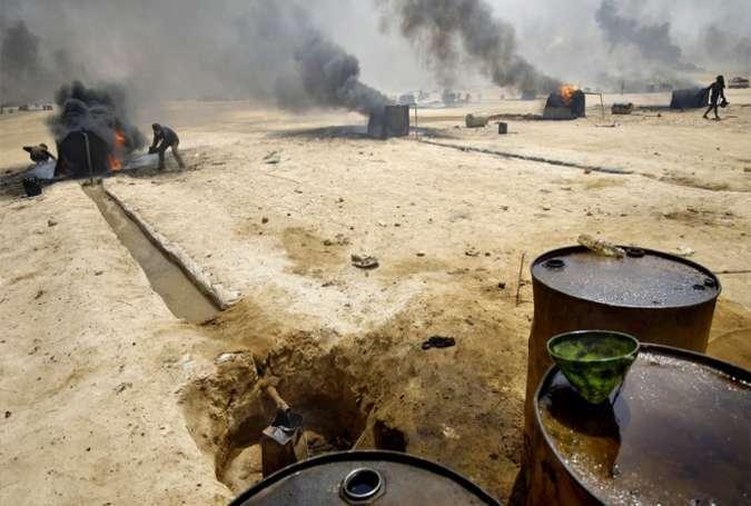 İran İŞİD tərəfindən Türkiyəyə neft satışı kadrlarına malikdir