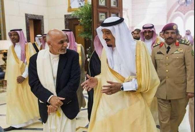عربستان نیروهای امنیتی خور را در افغانستان افزایش میدهد