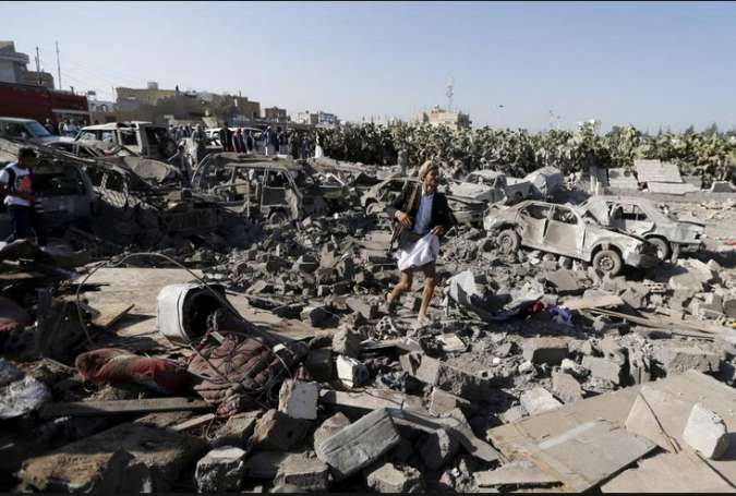 نامه اعضای کنگره به اوباما: عربستان در یمن جنایت جنگی مرتکب شده است