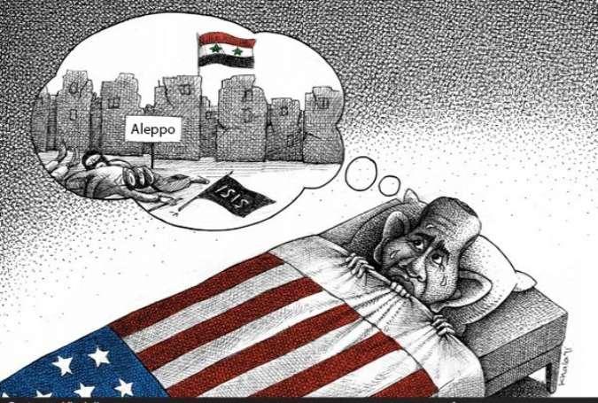 حلب، اوباما کا نیا ڈراونا خواب
