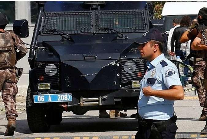 تیراندازی در نزدیکی مرکز پلیس شهر غازی عنتاب ترکیه