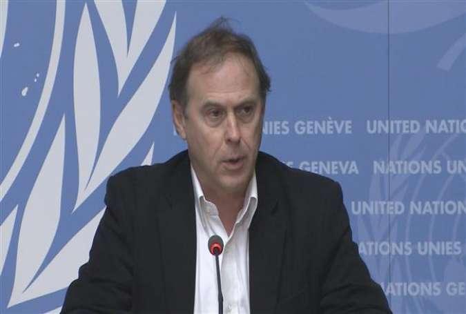 UN human rights commissioner spokesman Rupert Colville