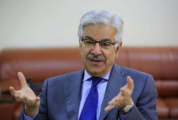 افغانستان بھارت کیساتھ ملکر پاکستان کی سلامتی کیخلاف سازشیں کررہا ہے، خواجہ آصف