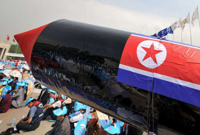 تحقیر آمریکا با دهمین آزمایش موشکی کره شمالی