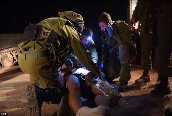 Suriyadakı terroristləri müalicə edən sionistlərin görüntüləri yayıldı (Fotolar)