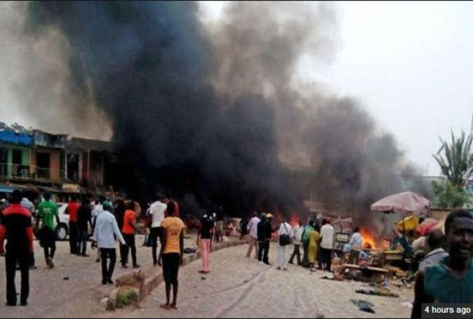 ۲۹ کشته و زخمی درپی ۳ انفجار انتحاری در نیجریه