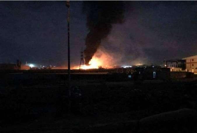 حمله هوایی رژیم صهیونیستی به استان حمص سوریه