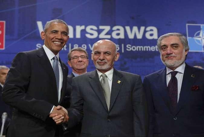 تلاش آمریکا برای سرنگونی دولت قانونی افغانستان