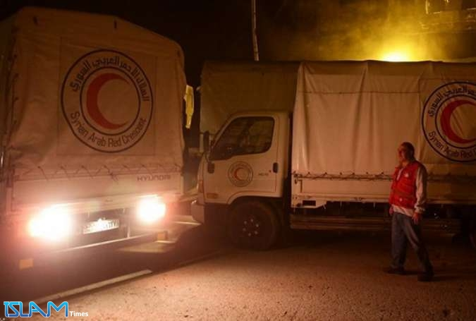 Russia Says US Continues to Hinder Humanitarian Aid Deliveries to Syria