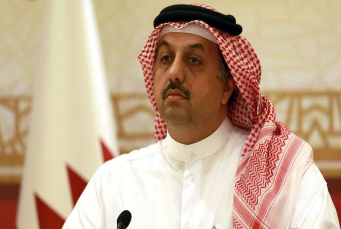 Qatar's defense minister Khalid bin Mohammad Al Attiyah