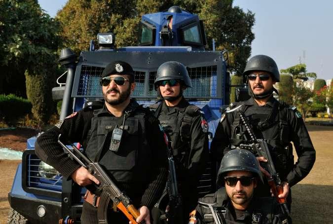 پشاور میں دہشتگردی کا خطرہ، شیخ محمدی گرڈ اسٹیشن میں پولیس کی مشقیں