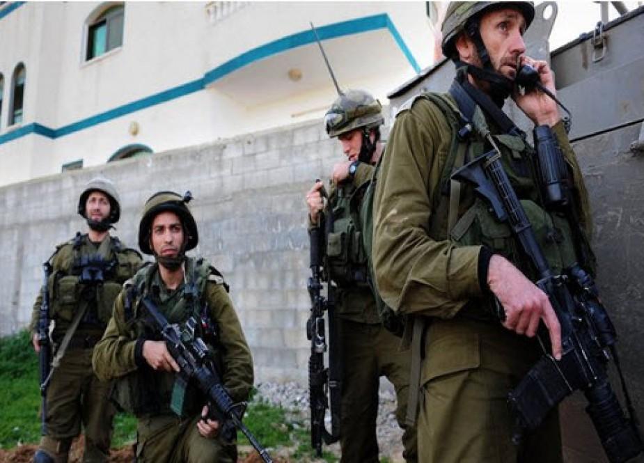 یورش صهیونیستها به کرانه باختری/ ۱۶ فلسطینی بازداشت شدند