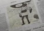 اخراج کاریکاتوریست «زوددویچه» در سرزمین مدعیان آزادی