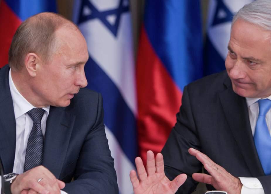 """Netanyahunun Putindən Suriyaya dair 2 """"xahişi"""""""