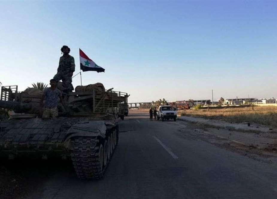بازگشت ارتش سوریه به مناطق مجاور با جولان اشغالی