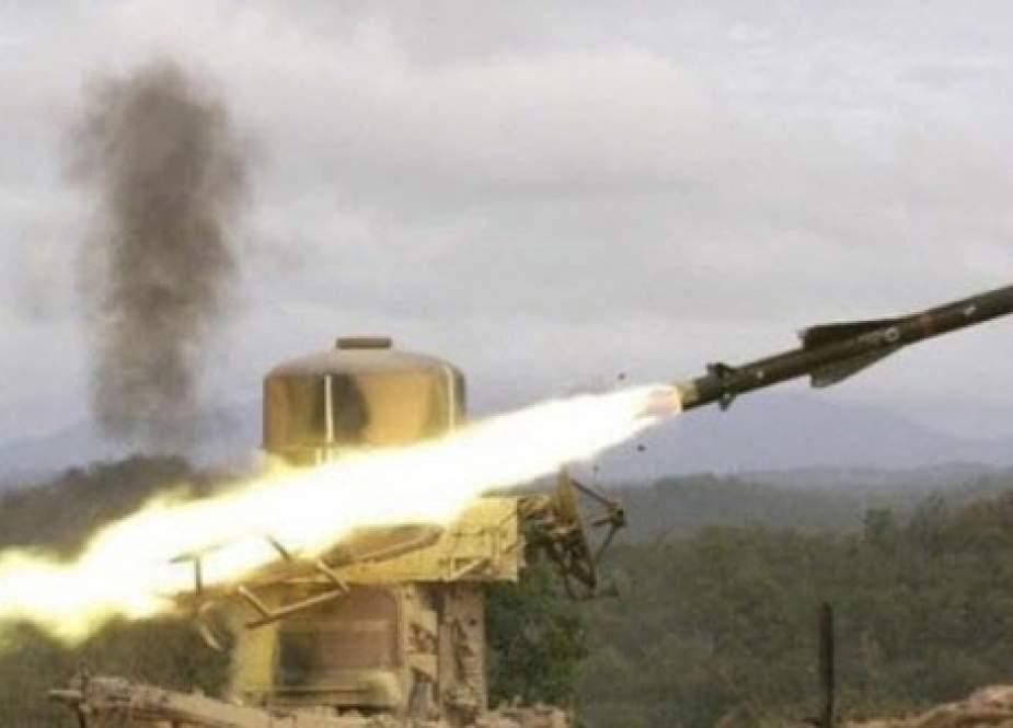 پایگاه سعودی مورد هدف ارتش یمن قرار گرفت