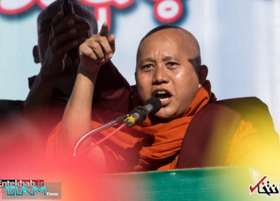 """سخنرانی """"ویراتو""""، از راهبان بودایی که دارای عقاید ناسیونالیستی شدید است"""