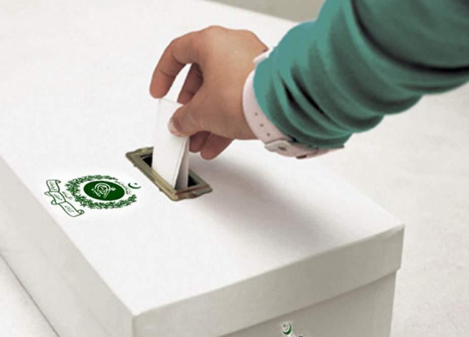 آزادکشمیر کے حلقہ ایل اے 18 میں بھی ضمنی انتخاب کیلئے پولنگ جاری