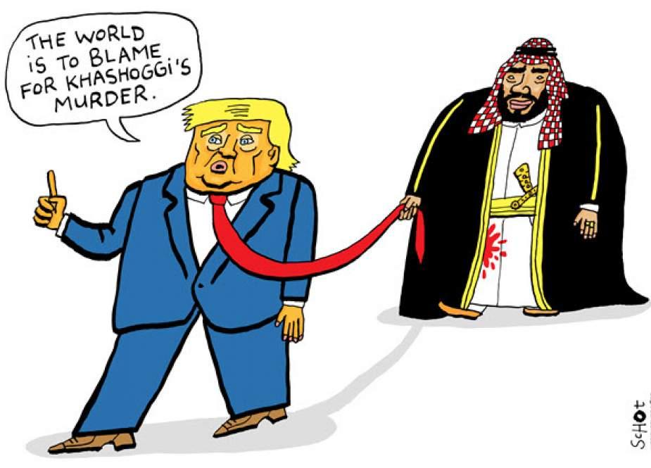Trump and SaudiArabia