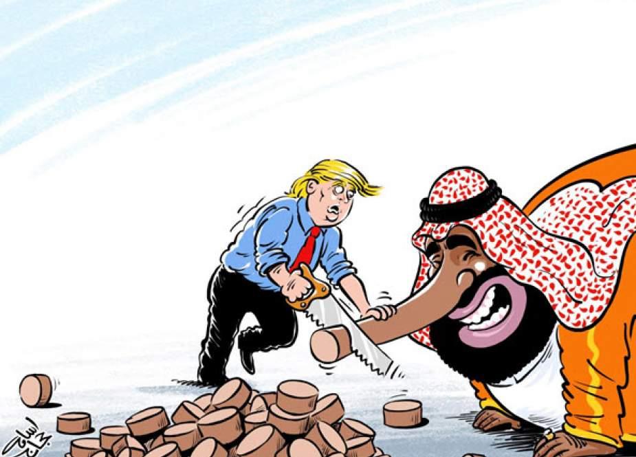 Trump& bin salman