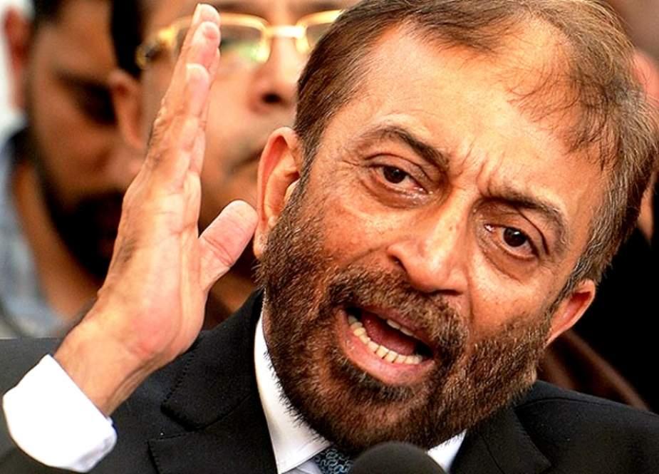 کراچی کو پٹے پر دینے اور نیا نو آبادیاتی نظام وضع کرنیکی تیاری ہو رہی ہے، فاروق ستار
