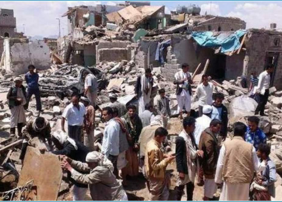 سازمان ملل مسئول جنایت کشتار جمعی در یمن