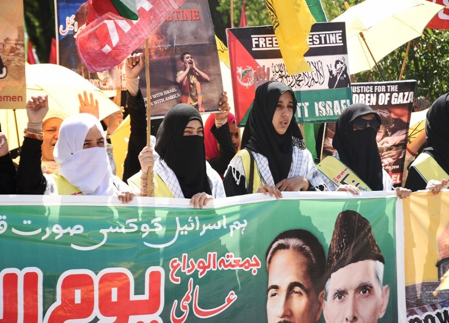 اسلام آباد میں شیعہ سنی تنظیموں کی جانب سے مشترکہ القدس ریلی کا انعقاد