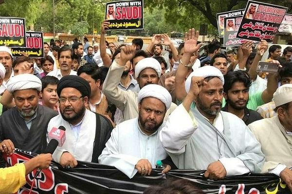 Hindistan Halkı, İran İslam Cumhuriyetine Destek İçin Sokaklara Döküldü