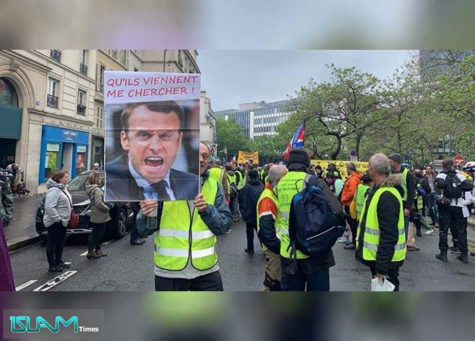 Fransada 10 min Sarı Jiletli həbs olunub!!