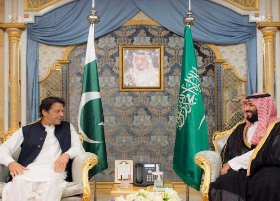 عمران خان با بن سلمان دیدار کرد