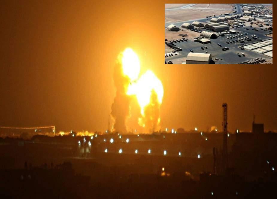 امریکی فوجی اڈے پر ایرانی جوابی کارروائی، کم از کم 80 امریکی فوجی ہلاک، 200 زخمی