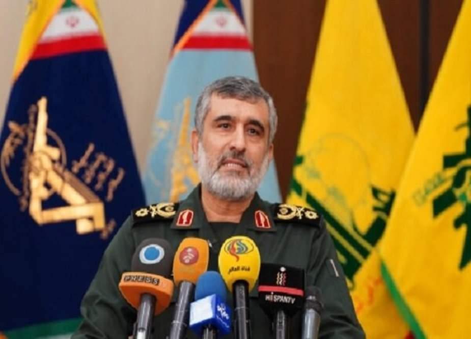 عین الاسد پر کارروائی پورے خطے میں ایک بڑے آپریشن کا آغاز ہے، ایرانی ایروسپیس فورس